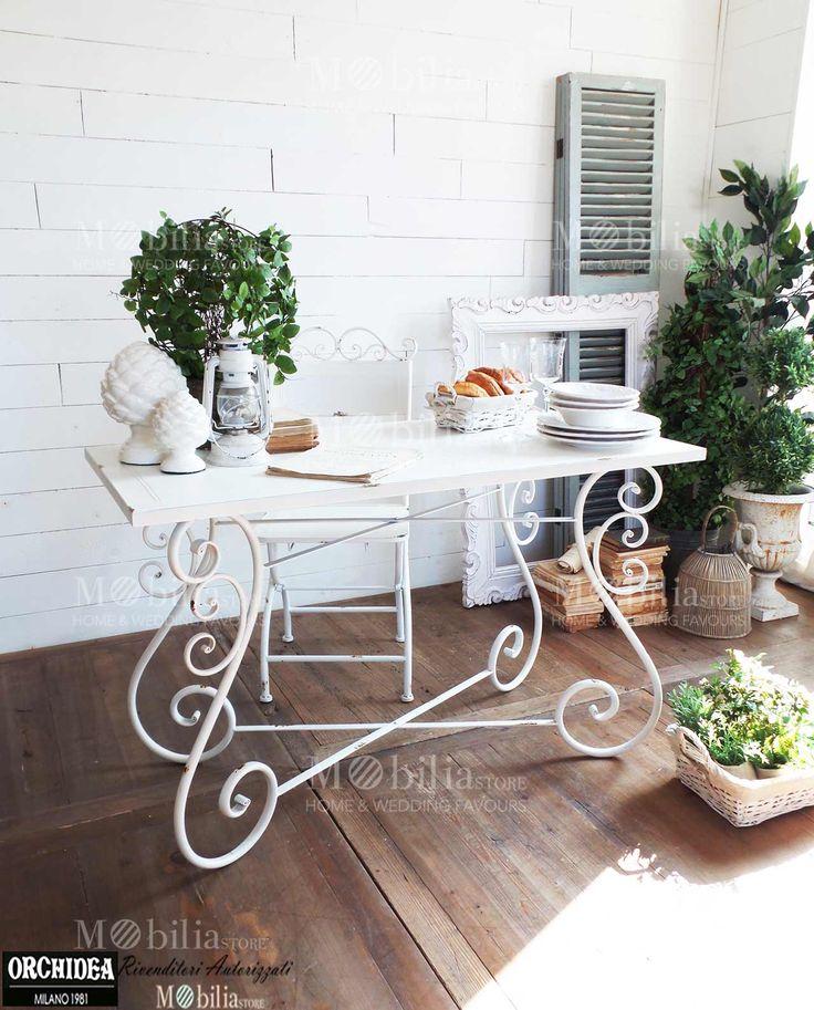 Oltre 25 fantastiche idee su tavolo in ferro su pinterest mobili in acciaio tavolo design e mesas - Larghezza tavolo ...