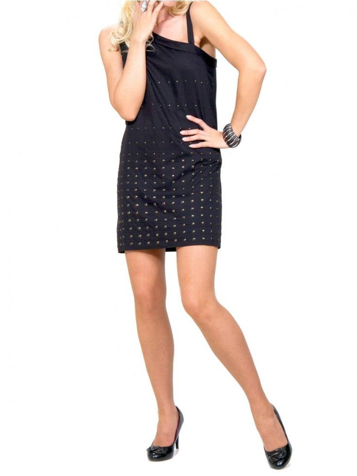 KOOKAI Ασύμμετρο Γαλλικό midi φόρεμα, με κεντημένα τρουκ. 72,50 €