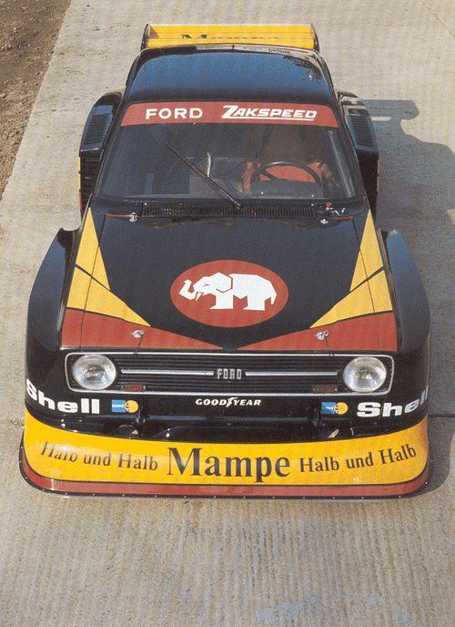 Ford Escort Mk2 Zakspeed  DRM 1977