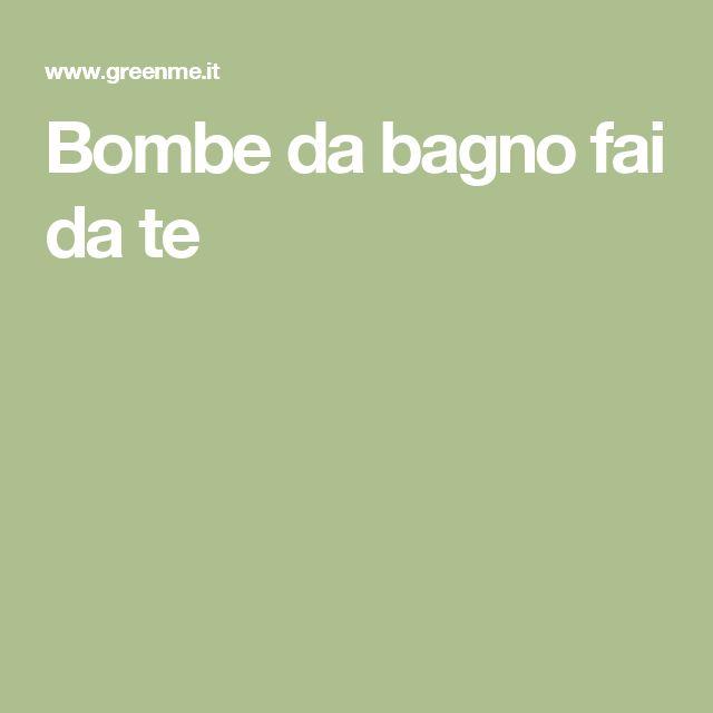 su Bombe Da Bagno Fai Da Te su Pinterest  Ricette Per Bombe Da Bagno ...