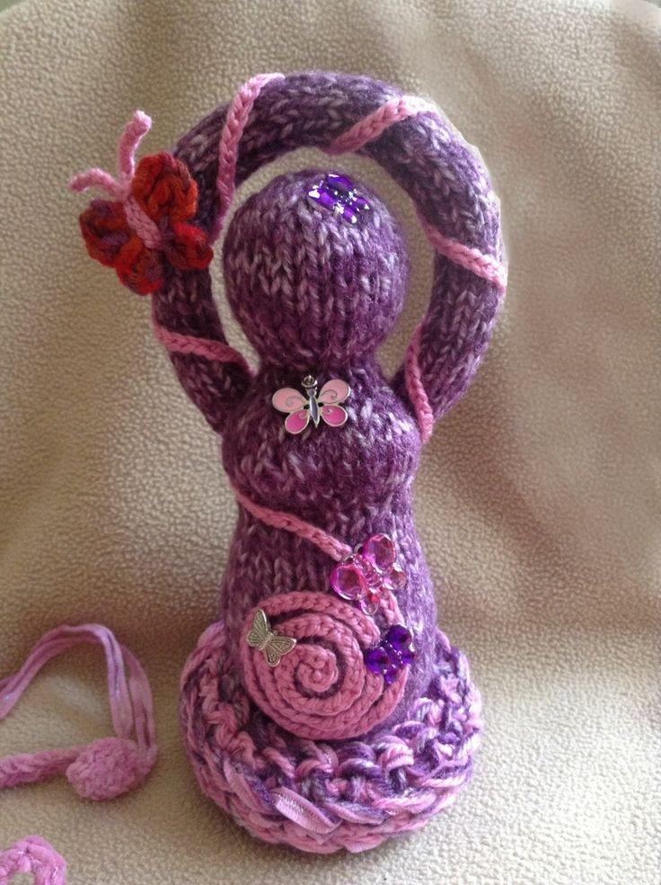 Knitting Goddess : Best goddess dolls knit and crochet images on