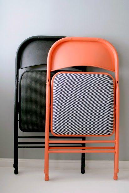 Como reformar Cadeiras dobráveis.                                                                                                                                                      Mais