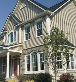 17 best images about home exterior color ideas on for What is 1 square of vinyl siding