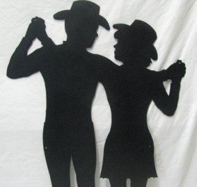 Cowboy and cowgirl, Cowgirl and Metals on Pinterest