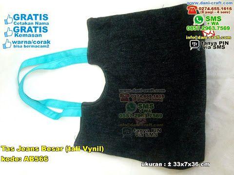 Tas Jeans Besar Tali Vynil SMS CENTER 0857 2963 7569 EMAIL info@dani-craft.com WA / TELP 0896 5070 8044 BBM 5B 367 E9A #hargatas #tasunik #TasJeans #PabrikJeans #souvenirPernikahan