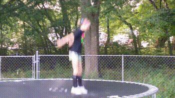 Trampoline WTF Bounce.gif