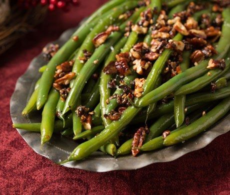 Green beans have a certain suave, slender elegance that makes them a classic                   accompaniment to rosy-red roast beef. But too often,…