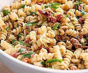Rezept Mediteraner Nudelsalat von Brutzelhexe - Rezept der Kategorie Vorspeisen/Salate