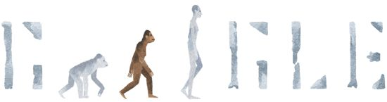 Today, worldwide, on all Google home pages is a special Google Doodle, Google logo, for Lucy The Australopithecus.  It is to honor the discovery, 41 years ago today, of AL 288-1...