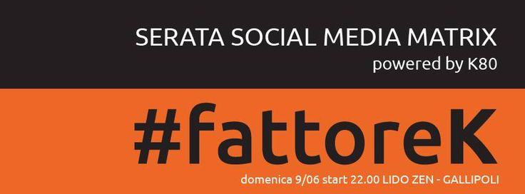 Social Media. Serata by #fattorek