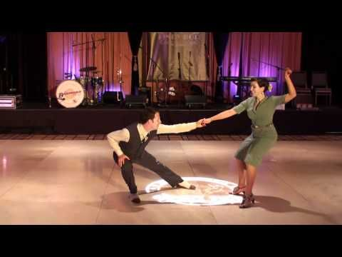 One of my favorite videos seen on youtube to this day of lindy.  I want my dancing to be as smooth as this someday.  And equally as fun :)