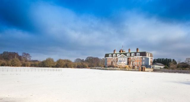 (PHOTO: Balmer Lawn Hotel)  Traditional Christmas UK breaks:  Balmer Lawn Hotel, New Forest (How about a four-star former hunting lodge decked with beautiful decorations in the New Forest? At the Balmer Lawn Hotel, children are well catered for with gifts, a kids' club, and coach trip to see Peter Pan at Southampton's Mayflower Theatre. Grazing outside your window are the famous free-roaming New Forest ponies donned in thick, fluffy winter coats.)