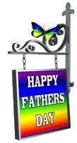 Happy Fathers Day Rainbow