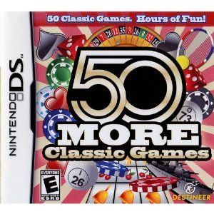 50 More Classic Games [DS, DS Lite, DSi, 3DS, DS XL]: Amazon.co.uk: PC & Video Games