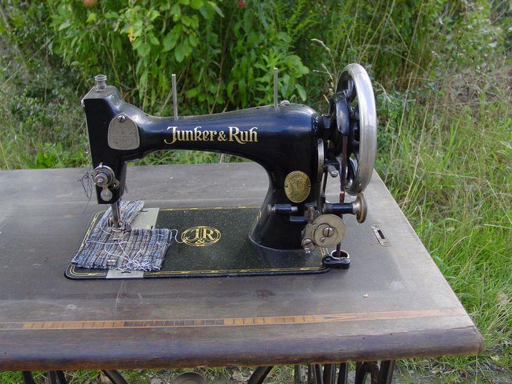 17 Best images about SMachine, Other Sewing Machine No 3  -> Nähmaschine Junker Und Ruh