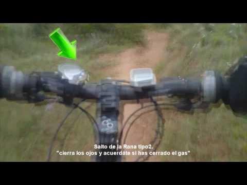 Mountain Bike - Logroño - La Rioja - Pico del Águila - Lardero. Descens. Downhill Rígida Comedia