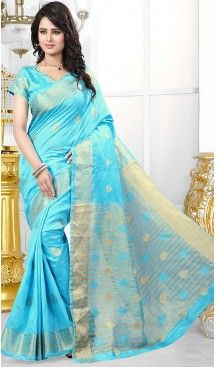 Banarasi Silk Fabric Sky Blue Color Casual Wear Sarees with Blouse | FH456671450 #party , #wear, #saree, #saris, #indian, #festive, #fashion, #online, #shopping, #designer, #usa, #henna, #boutique, #heenastyle, #style, #traditional, #wedding, #bridel, #casual, @heenastyle , #blouse, #prestiched, #readymade, #stiched , #lehegasaris, #sari, #saris , #casual , #deaily , #office, #home , #heenastyle