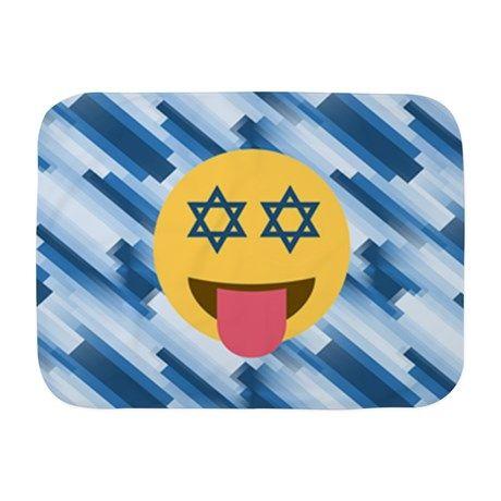 hanukkah chanukkah emoji Baby Blanket
