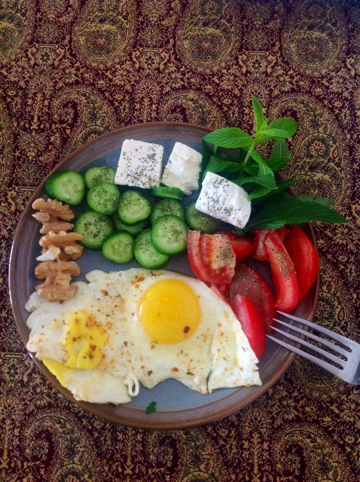 My delicious Persian style brunch.