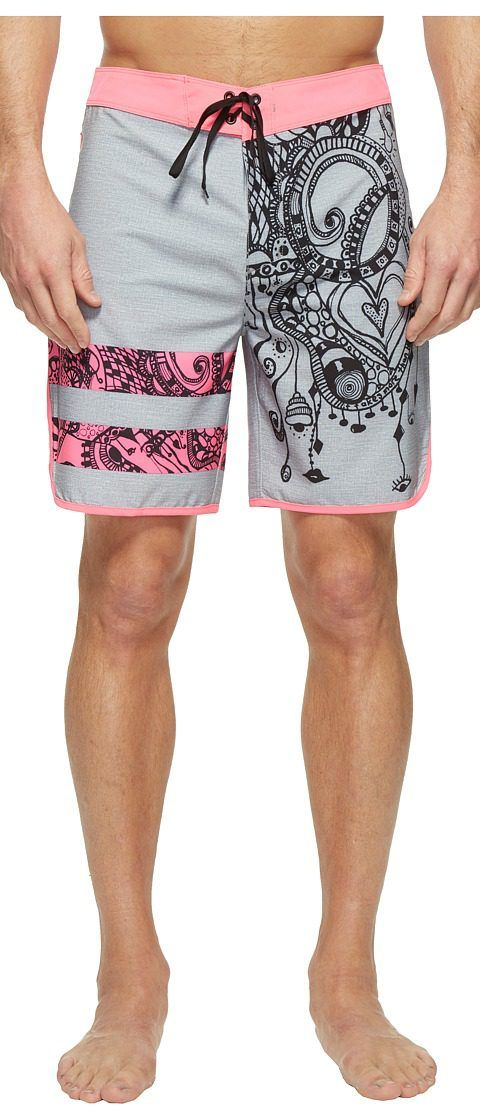 Hurley Phantom Block Party Julian Breast Cancer Association Boardshorts 18 (Neon Pink) Men's Swimwear - Hurley, Phantom Block Party Julian Breast Cancer Association Boardshorts 18, MBS0007220-675, Apparel Bottom Swimwear, Swimwear, Bottom, Apparel, Clothes Clothing, Gift, - Street Fashion And Style Ideas