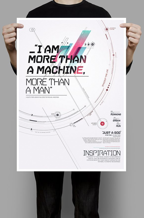 Projet étudiant de typographie : VGER. Great work !