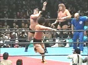 Stan Hansen/Terry Gordy vs Genichiro