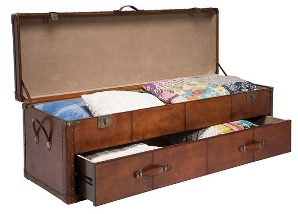 17 best images about blanket box decorating ideas on for Comforter storage ideas
