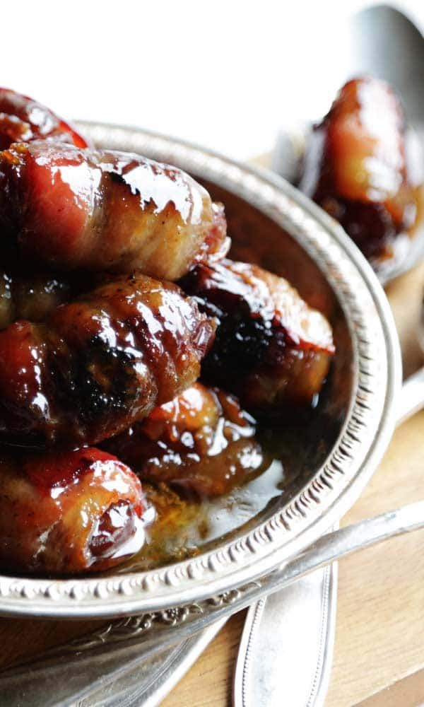 Try this delicious Bourbon and Brown Sugar Bacon Wrapped Dates Recipe as an appetizer for your next party.