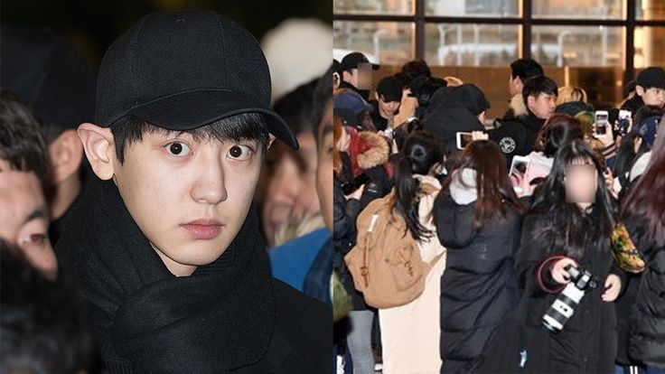 Celohfan | Oh! Celeb and Fan EXO Departed for Japan Today, the Airport was Overcrowded by Fans - CELOHFAN