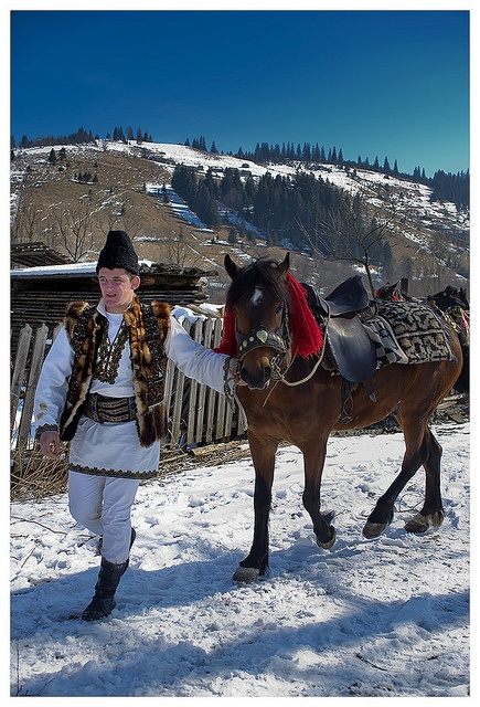 Man dressed in a traditional costume, Romania, www.romaniasfriends.com