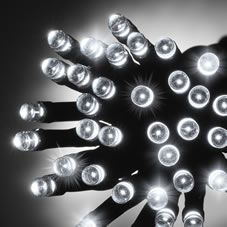 Let there be light! This fantastic set of 20 white LED lights is just what you need for your Christmas tree this year. These static lights are battery operated and have a discreet clear cable. With a total length of approximately 2.2m, and a distance of 10cm between each bulb, these lights are ideal for bringing some festive cheer into your home this Christmas. <BR><BR>These Christmas lights are for indoor use only and require x2 AA batteries (included).<BR><BR>Warning:<BR>Always read pack…