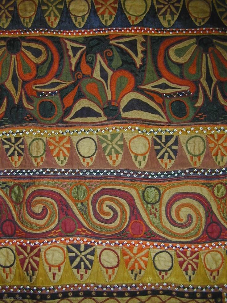 a festival bullock cover (jhul), saurashtra, gujarat