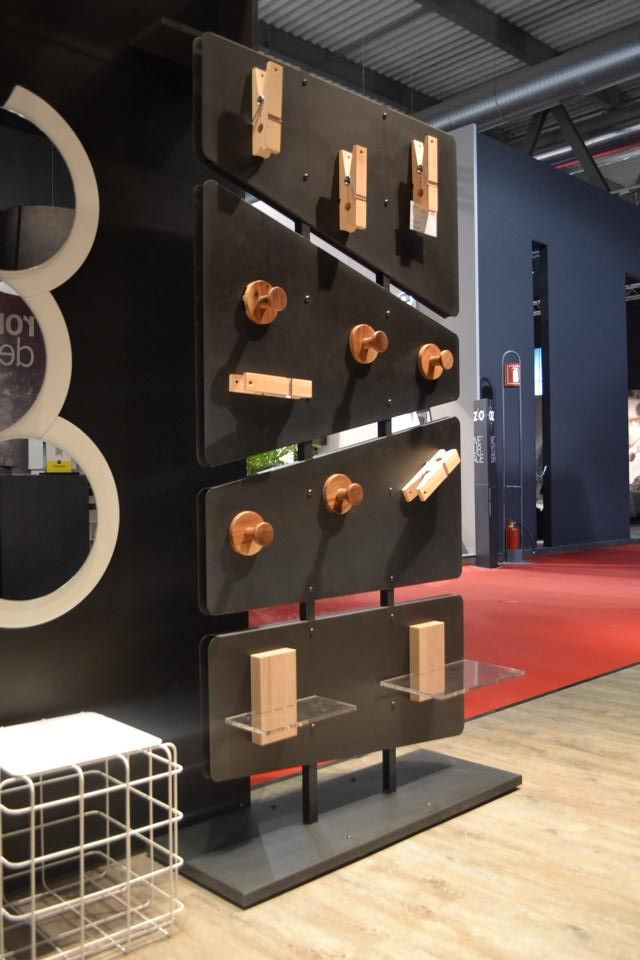 #PuntoZero #freestanding #totem for #professional #furniture preview by #rondadesign at #salonedelmobile