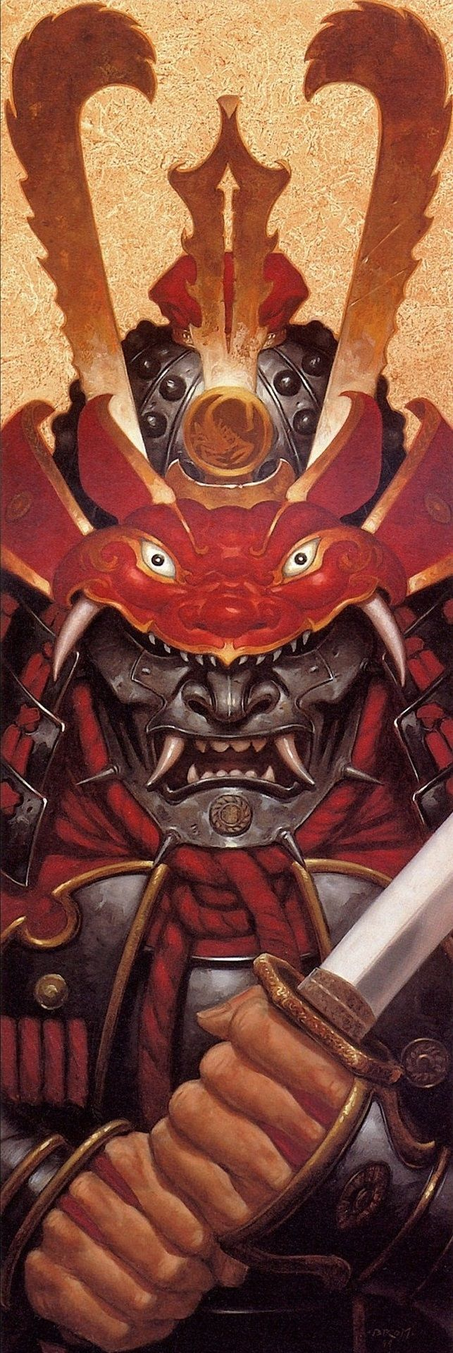 The Samurai of Tyrakawa are an elite band of warriors who give up their old lives to become part of an ancient order of warriors. They stick to their own Code of Honor and are often found among the courts of Lords as advisors or bodyguards.