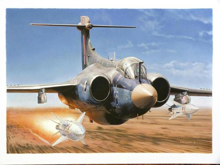 Buccaneer AS30 launch.SAAF