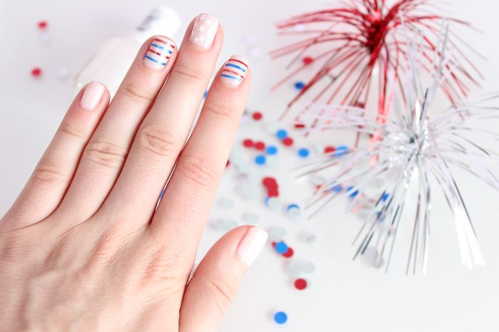 Style & Paper: 4th of July Nails