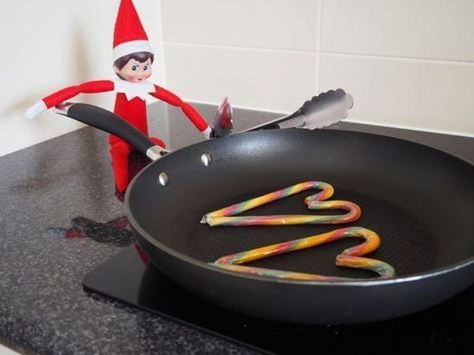 15 Fun and Cute Elf on The Shelf Ideas - mybabydoo