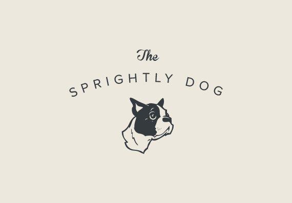 PREMADE PROFESSIONAL LOGO Design Dog Puppy by BRANDSOCIETY