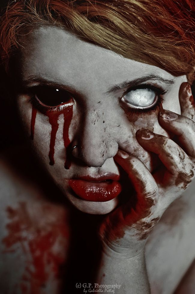 20 Samples of Scaring and Horror Photography