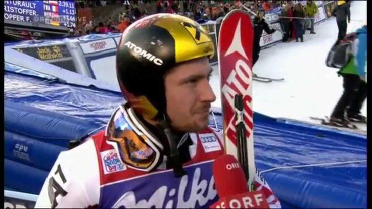 Marcel Hirscher - Sieger - FIS Weltcup Riesenslalom Herren Adelboden 201...