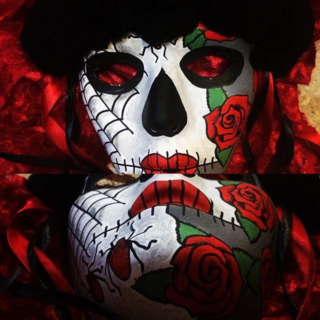 Another mask completed! #mask #masks #diadelosmuertos #diadelosmuertosart #sugarskull #sugarskulls #sugarskullmask #dayofthedead #dayofthedeadart #dayofthedeadmask #costume #cosplay #custom #customorder #handmade #handpainted #order #ordernow #wordwide #madetoorder #ordernow #bali #indonesia #scottish #festival