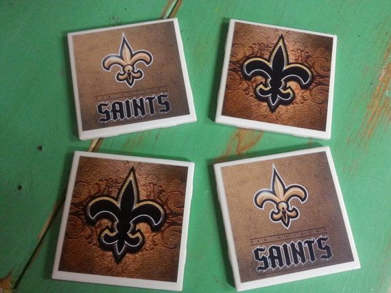 Check out this item in my Etsy shop https://www.etsy.com/listing/246629591/new-orleans-saints-inspired-ceramic