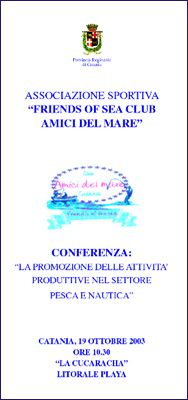 convegno friend of sea
