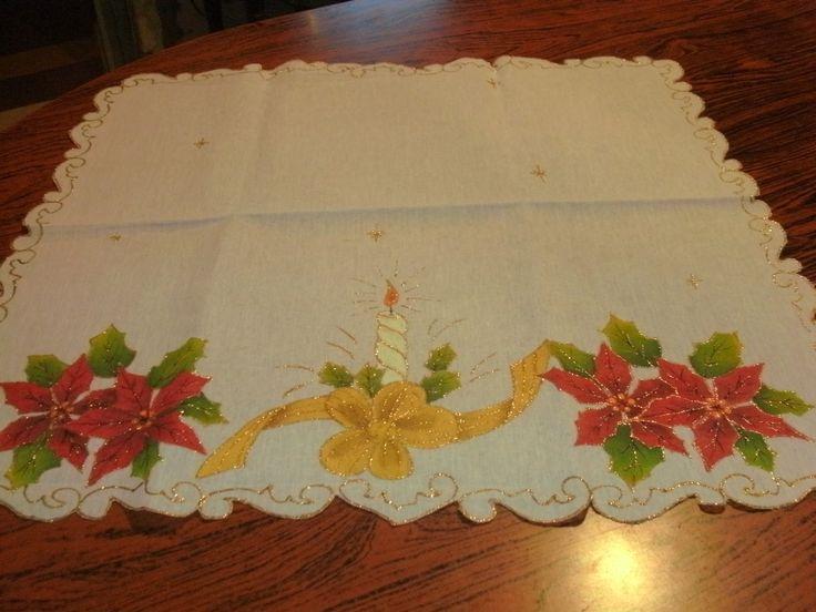 Bordes para pintar caminos de mesa buscar con google - Pintura en tela motivos navidenos ...