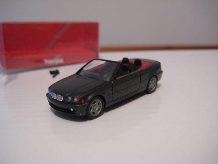 Herpa * 3er BMW Coupé 328i (E46) OVP * 1:87 schwarz
