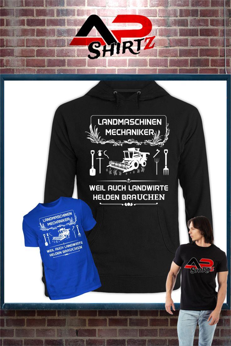 Landmaschinenmechaniker, weil auch Landwirte Superhelden brauchen...    Hier erhältlich: https://www.shirtee.de/landwirt-mechaniker <<<<     Sicherer Zahlungsverkehr     Qualitativ hochwertige Textilien     Versand aus Deutschland Weitere Designs im Shop:  http://hofladen.shirtee.de  <<<<<<