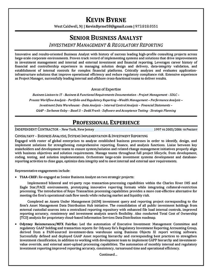business analyst resume describes the skills and expertise of business analyst business analyst is one