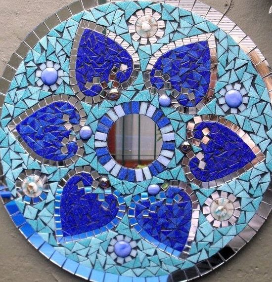 Easy Homestead: Mosaic Wall Decoration