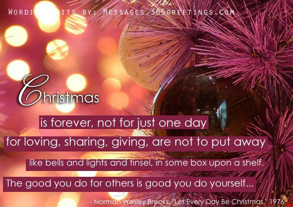 Inspirational Holiday Sayings: Christmas Card Quotes And Sayings