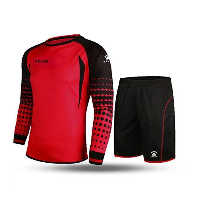 Kelme Football Goalkeeper Long Sleeve Suit Soccer Jersey Set Clothing Football Jersey New Jersey Footba Fall Football Outfit Football Outfits Football Fashion
